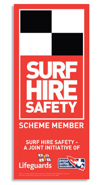 Surf Hire Safety logo